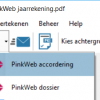Productsheet integratie Printless en PinkWeb