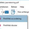 Productsheet integratie Printless en PinkWeb