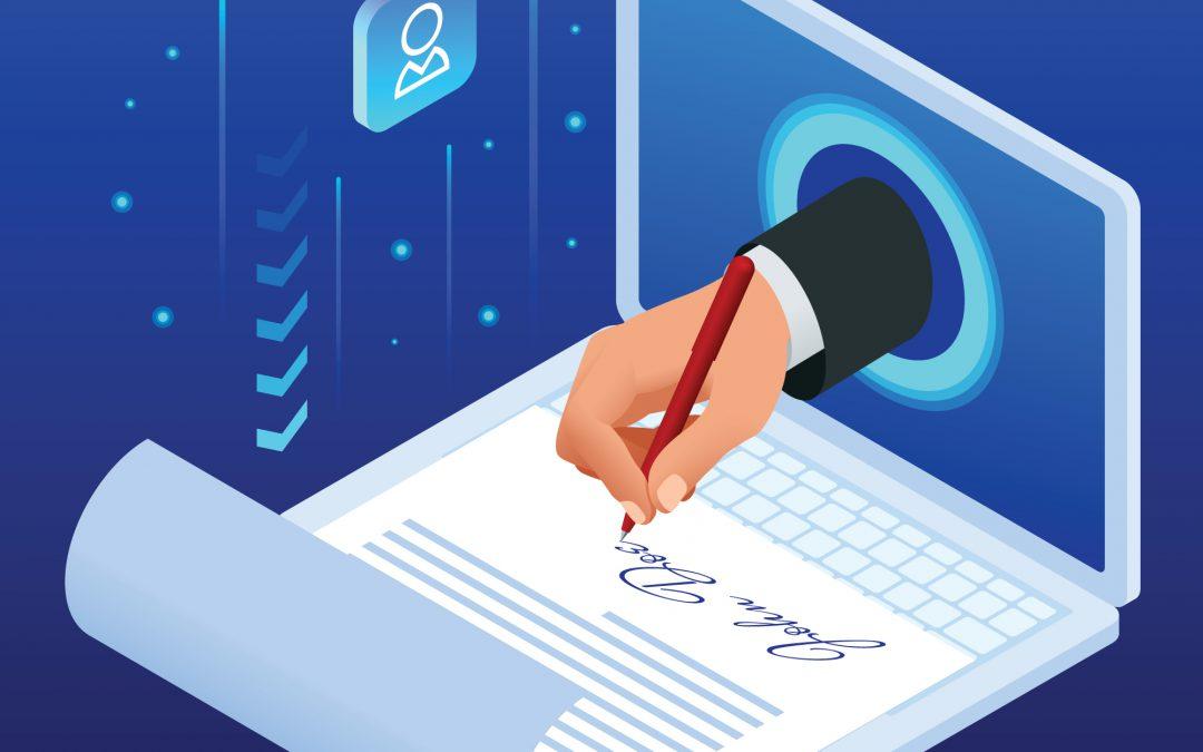 Digitaal ondertekenen de nieuwe trend bij werken op afstand!?